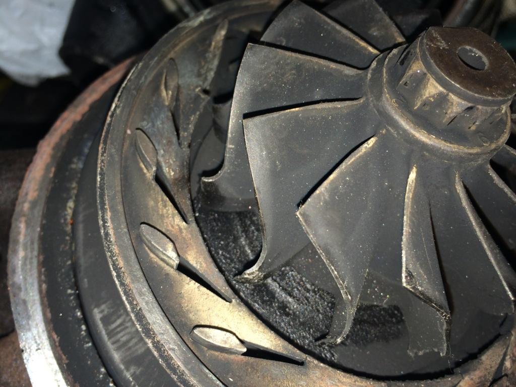 Турбины для грузовых автомобилей и спецтехники. Этапы ремонта